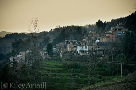 Hani village at dusk (1 of 1)
