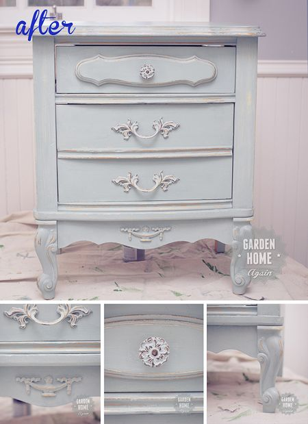 Annie Sloan Chalk Paint makeover - Garden Home Again 1