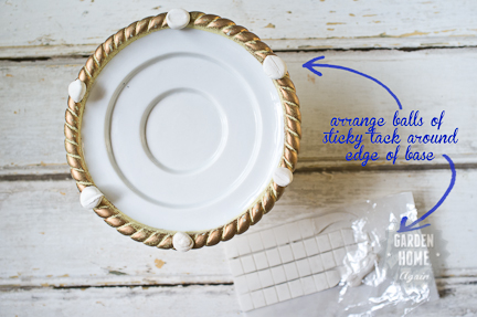 5 minute cake stand - Garden Home Again 4