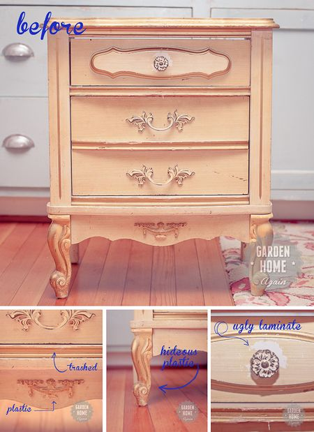 Annie Sloan Chalk Paint makeover - Garden Home Again 2