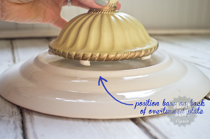 5 minute cake stand - Garden Home Again 5