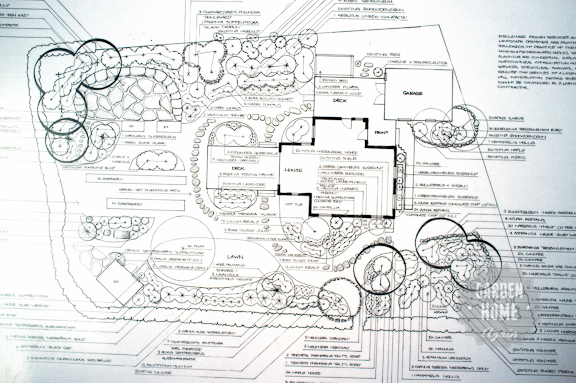 Garden Home Again - Garden Plan 1